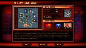 Info screen THC