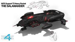 NodSalamander Tiberian Twilight Concept & Render