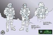 CNCTW Rifleman Concept Art BP 1