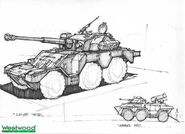 RA2 Armored Car