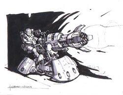 RA2 Chrono Legionary Turret
