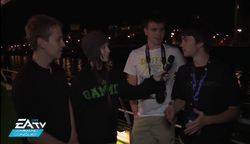 CommandCom 2013 Melonie interviews Sybert