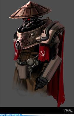 CNCRen2 Cyborg Soviet Concept