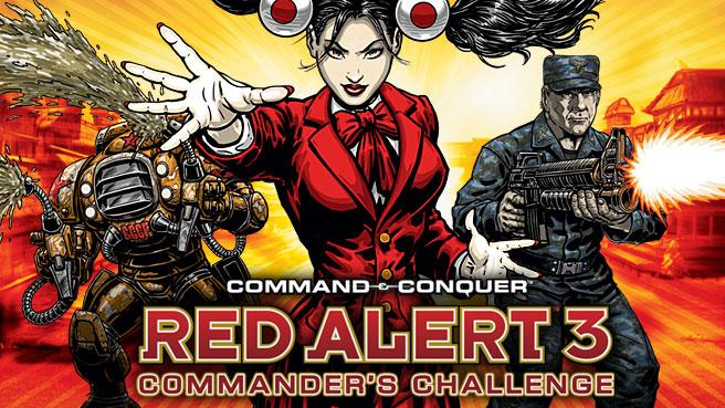 Command Amp Conquer Red Alert 3 Commander S Challenge