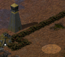 Searchlight tower