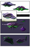 TW Scrin Havester Concept Art