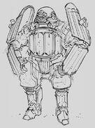 CNCTW Grenadier Concept Art 9