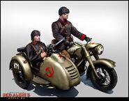 RA3 MortarCycle Concept