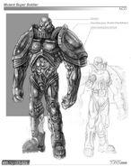 Renegade Templar concept art