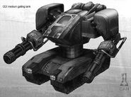 CNC4 Wolf Tank concept