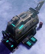 CNC4 GDI Tier II Defense Crawler Deployed