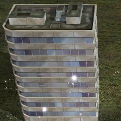 Здание, зачищенное светошумовыми гранатами