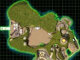 Nod volcano island