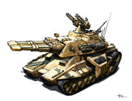 CNCG Mammoth Tank concept by TJ Frame