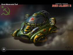 RA3 Mastermind Tank Concept Art