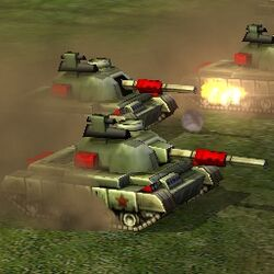 Generals Battlemaster Tank