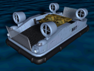TD Hovercraft transport Medium Tank Render