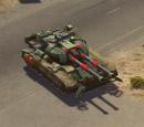 Warlord tank