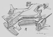 CNCTW Dropship Concept Art 5