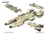 CnC 4 GDI Kodiak Concept Art