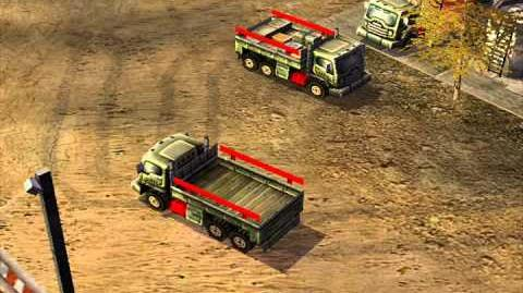 C&C Generals — Supply Truck Audio