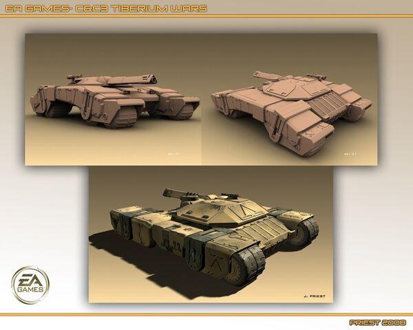 File:CNCTW Predator Tank Early Renders.jpg