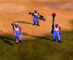 RA3 Javelin Soldiers