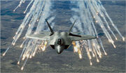 F-22 Raptor fighter jet by cool wallpapers