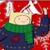 Christmas - Finn (Adventure Time).png