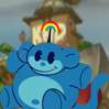 Blue Rainbow Monkey (Codename Kids Next Door).png