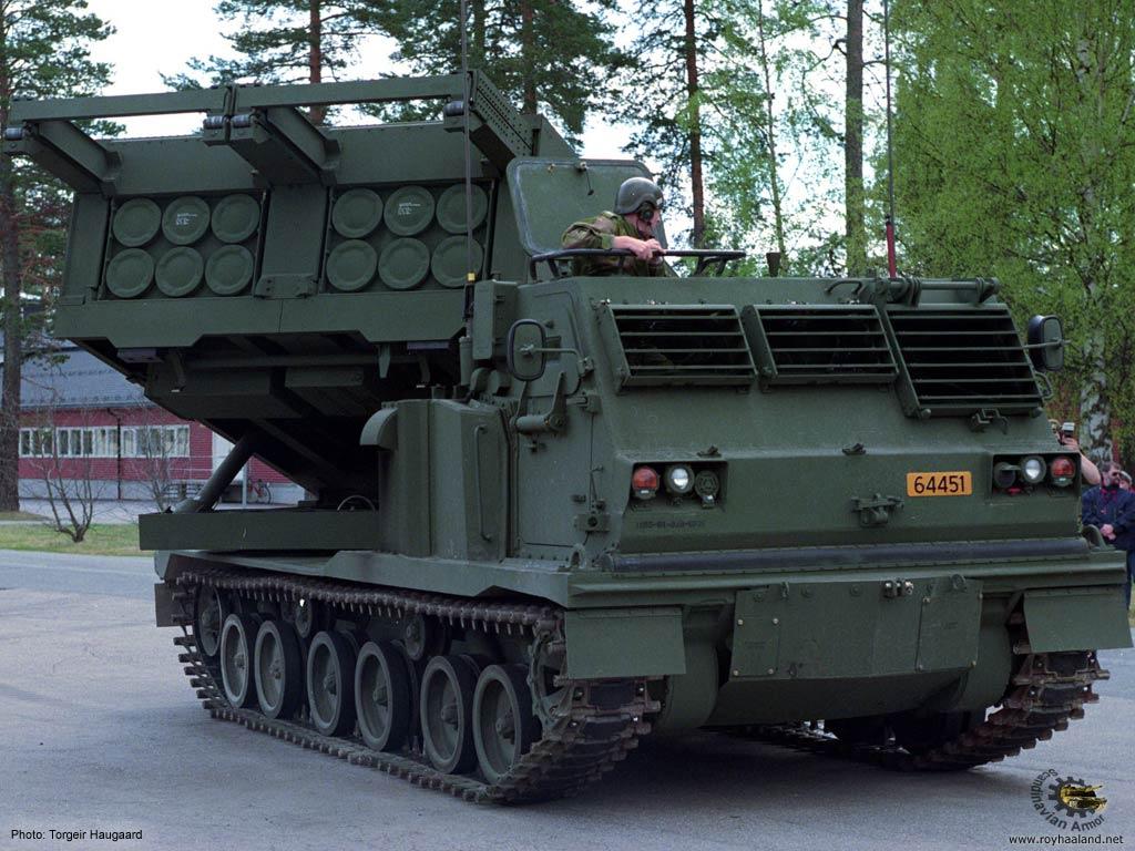 Resultado de imagen para M270 MLRS