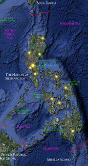 Selenarctos Map