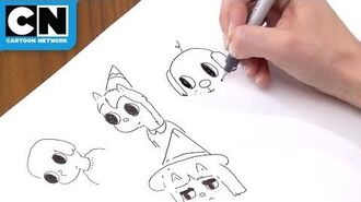 5-Minute Drawing Challenge Summer Camp Island Cartoon Network