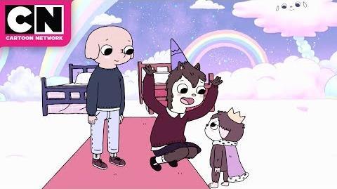 Summer Camp Island Oscar and Hedgehog in Space Cartoon Network