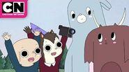 Oscar and Hedgehog's Documentary Summer Camp Island Cartoon Network