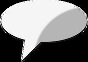 Speech Bubble (MS Powerpoint 2007-08) Model