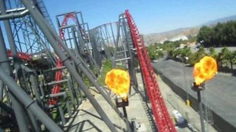 X2 Front Seat on-ride POV