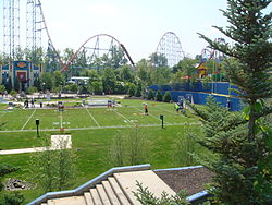 File:Six Flags New England football field with Superman.jpg