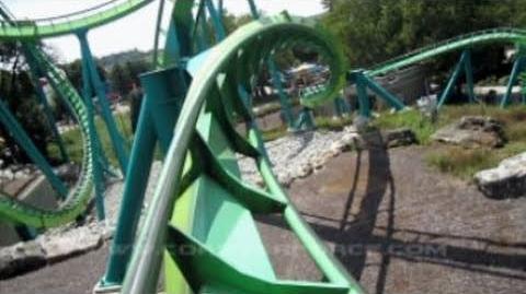 Hydra The Revenge (Dorney Park) - OnRide - (720p)