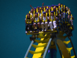 Floorless Roller Coaster