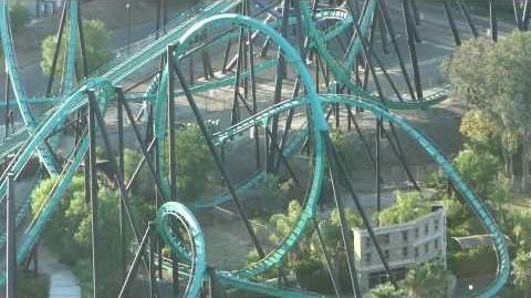 Riddler's Revenge (Six Flags Magic Mountain) - OffRide (1080p)
