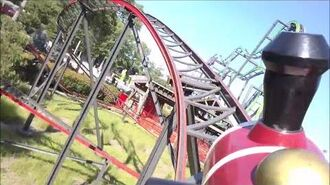 Harley Quinn Crazy Train HD On-Ride POV Front Six Flags Great Adventure Summer 2016