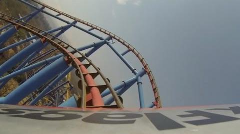 Superman El Ultimo Escape POV Six Flags Mexico