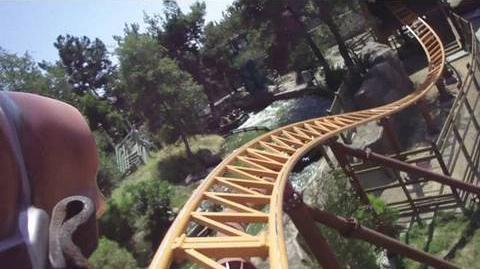 Pony Express (Knott's Berry Farm) - OnRide - (720p)