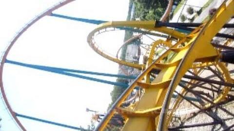Georgia Scorcher (Six Flags Over Georgia) - OnRide - (720p)