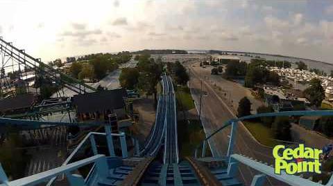 Blue Streak (Cedar Point) - OnRide - (720p)