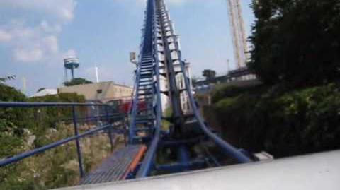 Corkscrew (Cedar Point) - OnRide - (480p)