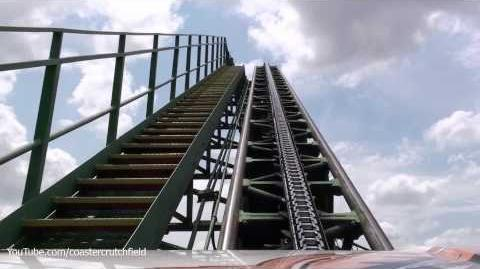Shockwave (Six Flags Over Texas) - OnRide - (1080p)