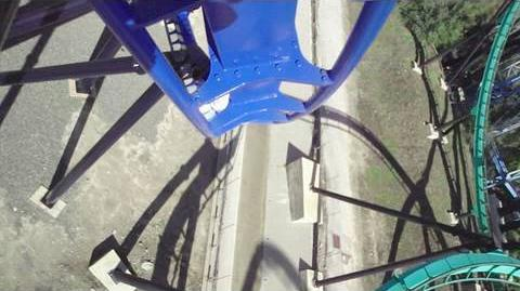 Batman The Ride (Magic Mountain) - OnRide - (720p)