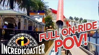 Incredicoaster FULL POV
